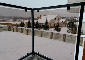 Ограждения балкона в стиле лофт