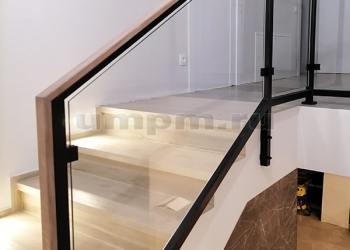 """Ограждения для лестницы """"лофт"""""""