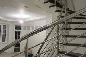 Перила из нержавеющей стали винтовой лестницы