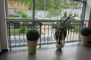 Перила из нержавеющей стали для балкона и террасы