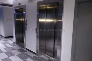 Лифтовые порталы из нержавеющей стали фото