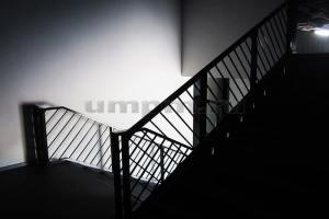 Металлические ограждения для лестниц фото