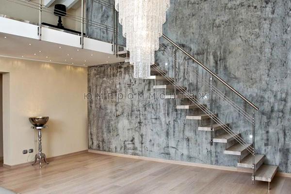 Компактная лестница на больцах