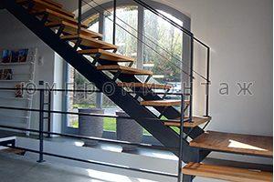 Бюджетная металлическая лестница