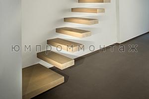 встроенная в стену лестница недорого