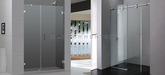 Душевые стеклянные двери