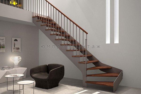 Металлические маршевые лестницы