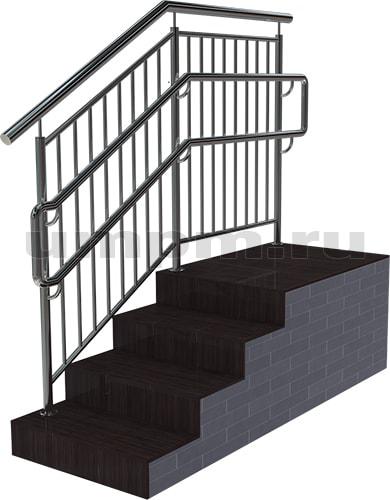 Купить перила для лестницы из нержавейки