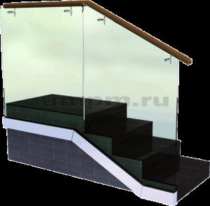 Перила из стекла