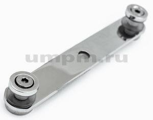 Пластинчатый держатель из нержавеющей стали для перил