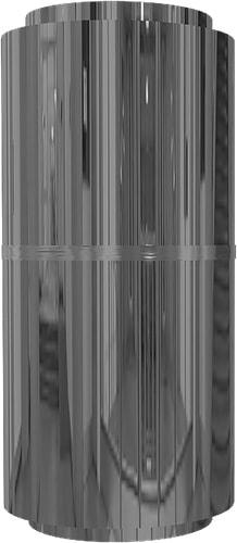 Облицовка круглых колонн нержавеющей сталью