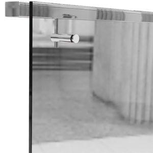 Прямоугольный нержавеющей поручень для ограждений из стекла