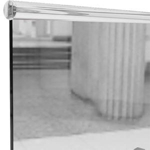Круглый нержавеющей поручень на стекло