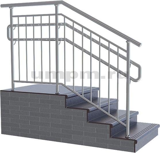 Ограждения лестниц из нержавеющей стали для детского сада