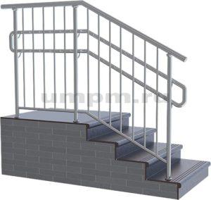 Лестничное ограждения из нержавеющей стали для детского сада фото