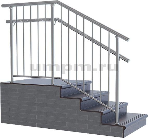 Лестничное ограждения из нержавеющей стали для школ фото