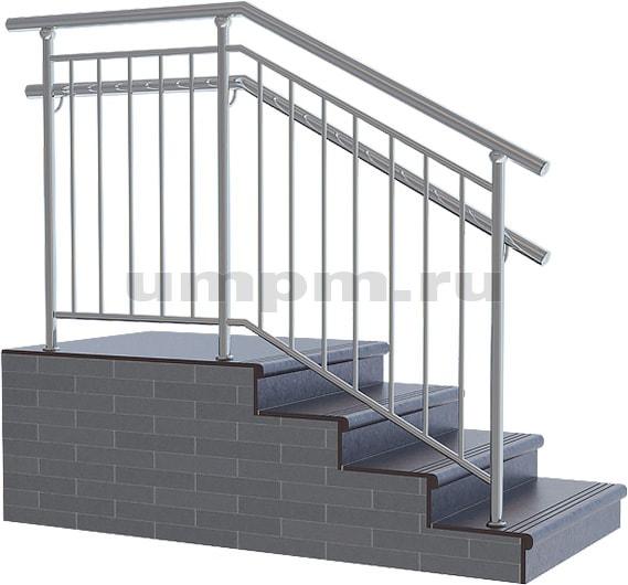 Ограждение лестниц в школах из нержавейки