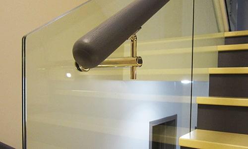 Закленный триплекс для стеклянных ограждений