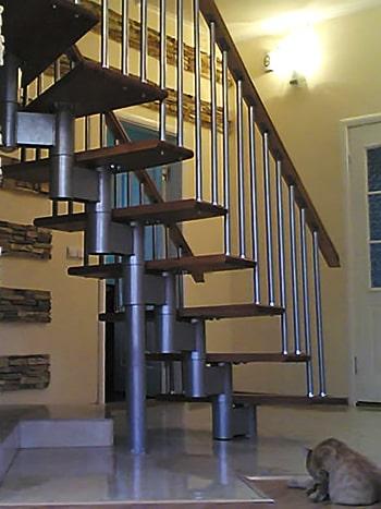 Модульная лестница для частного дома